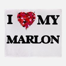 I love my Marlon Throw Blanket