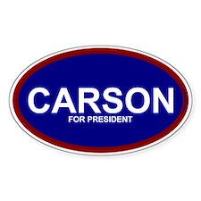 Ben Carson President 2016 Decal