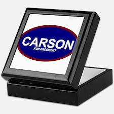 Ben Carson President 2016 Keepsake Box