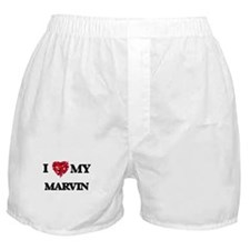I love my Marvin Boxer Shorts