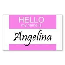 Angelina Rectangle Decal