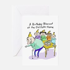 Birthday Blowout Greeting Card