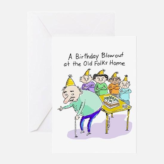 Birthday Blowout Greeting Card