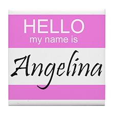 Angelina Tile Coaster