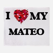 I love my Mateo Throw Blanket