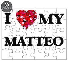 I love my Matteo Puzzle