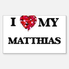 I love my Matthias Decal