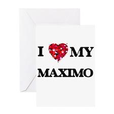 I love my Maximo Greeting Cards