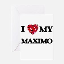 I love my Maximo Greeting Cards