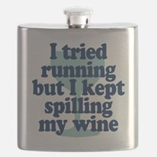 Tried Running Spilled Wine Flask