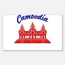 Cute Angkor wat Decal
