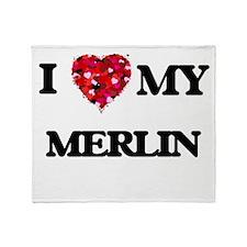 I love my Merlin Throw Blanket