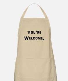 You're Welcome. Apron