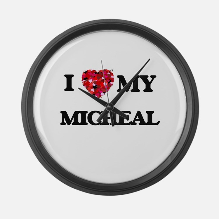 I love my Micheal Large Wall Clock