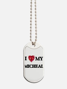 I love my Micheal Dog Tags