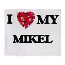 I love my Mikel Throw Blanket