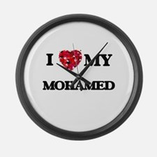 I love my Mohamed Large Wall Clock