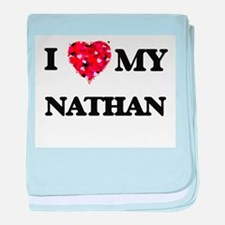 I love my Nathan baby blanket