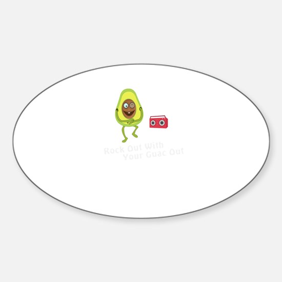 Rock Out with Your Guac Out Decal