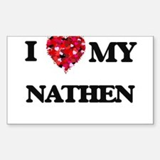 I love my Nathen Decal