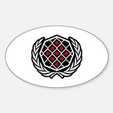 Global MMA Symbol Decal
