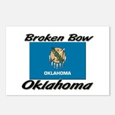 Broken Bow Oklahoma Postcards (Package of 8)