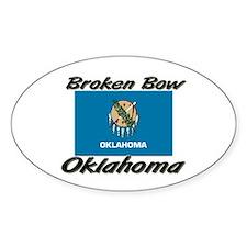 Broken Bow Oklahoma Oval Decal