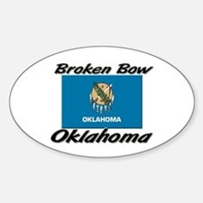 Broken Bow Oklahoma Oval Decal