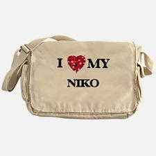 I love my Niko Messenger Bag