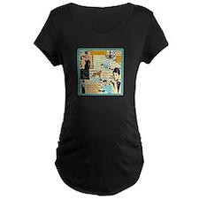 B A T Dark Maternity T-Shirt