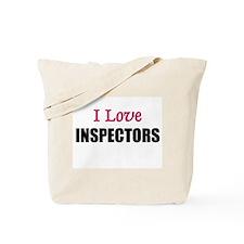 I Love INSPECTORS Tote Bag