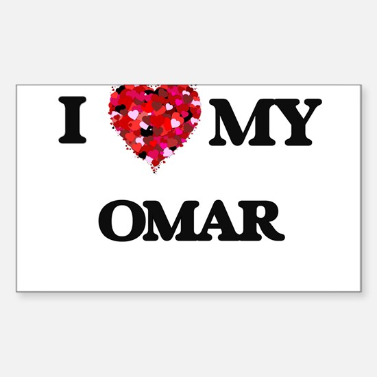 I love my Omar Decal