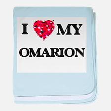I love my Omarion baby blanket