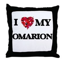 I love my Omarion Throw Pillow