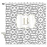 Monogram Shower Curtains