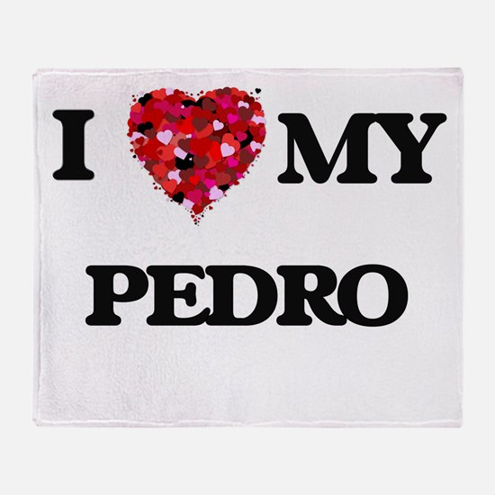I love my Pedro Throw Blanket