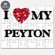 I love my Peyton Puzzle