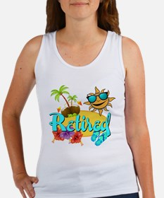 Retired Beach Women's Tank Top