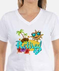 Retired Beach Shirt
