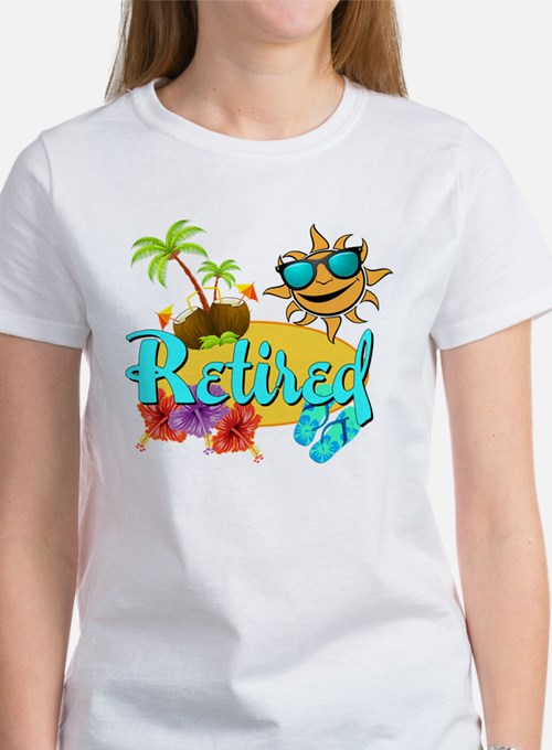 Retired Beach Women's T-Shirt