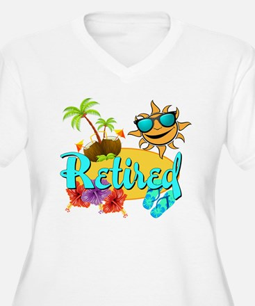 Retired Beach T-Shirt