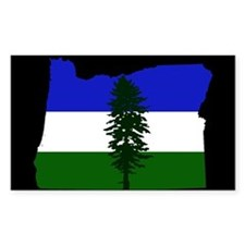 Oregon/cascadia Flag Decal