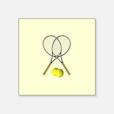Tennis Doubles Sticker