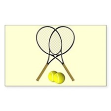 Tennis Doubles Decal