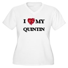 I love my Quintin Plus Size T-Shirt