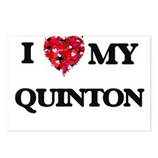 I love my Quinton Postcards (Package of 8)