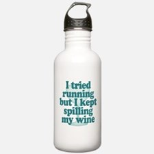 Tried Running Spilled Water Bottle