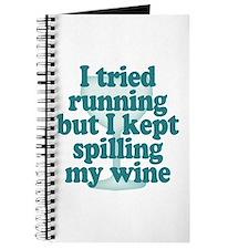 Tried Running Spilled Wine Journal