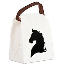 Horse Head Canvas Lunch Bag