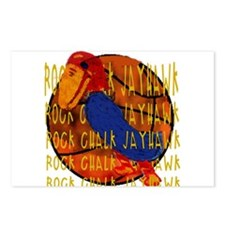 Rock Chalk Jayhawk Basketball Postcards (Package o
